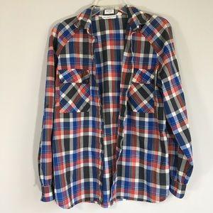 Levi Straus plaid shirt